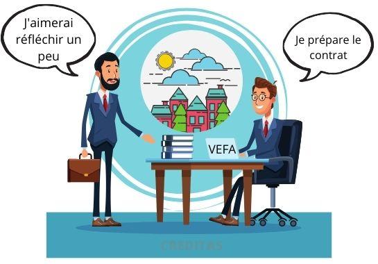 Risque de l'achat en VEFA