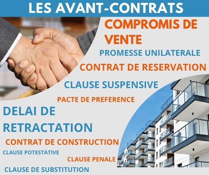 Les differents avant contrats immobiliers