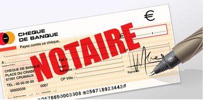 Remuneration du notaire