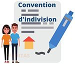 Convention d'indivision