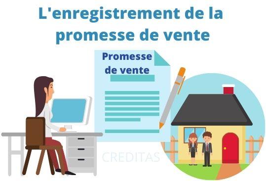 Enregistrement promesse de vente