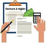 Reglement factures impayees