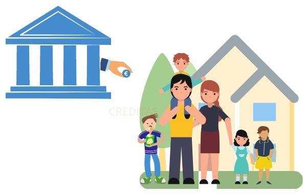 Obtenir un pret immobilier avec 4 enfants a charge