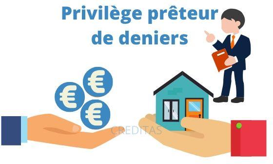 Garantir un emprunt avec un privilege preteur de deniers