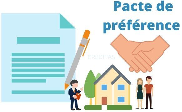 Pacte de preference immobilier