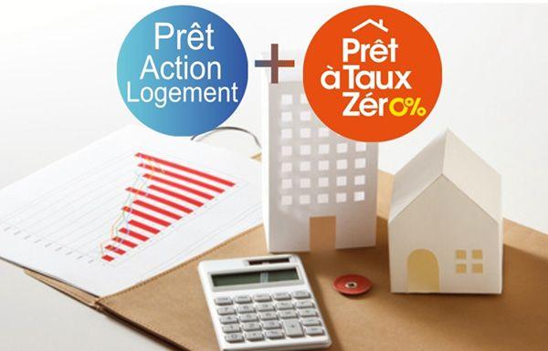 Cumul d'un pret action logement et un PTZ