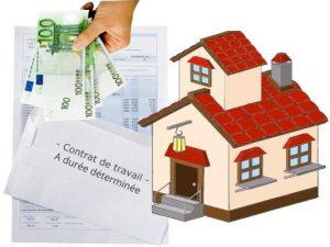 Emprunter avec un contrat a duree determinee