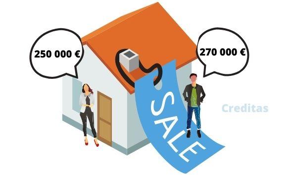 vente logement divorce