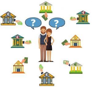 Les banques actives sur le regroupement de credit