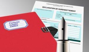 Deposer un dossier aupres de la commission de surendettement