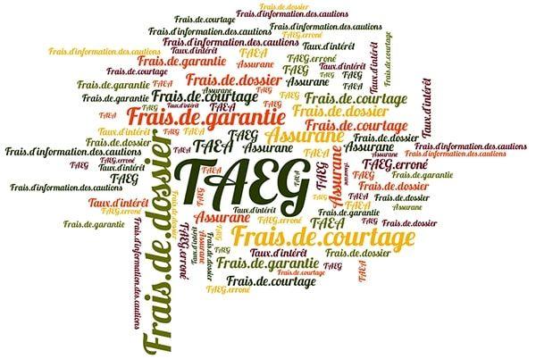 Elements qui entrent dans le calcul du TAEG