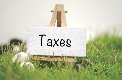 Taxes a payer sur les terrains